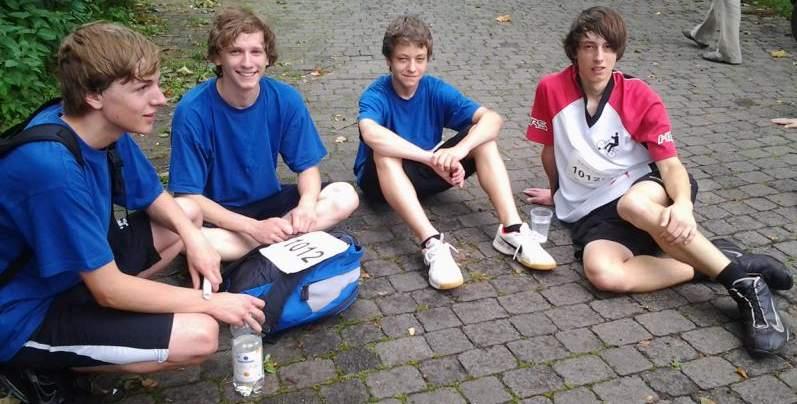 von links: Timo Dornberg, Daniel Scheich, Mike Sartorius, Tom Sartorius